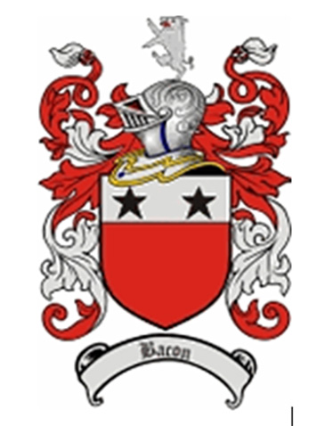 Bacon's Family Crest